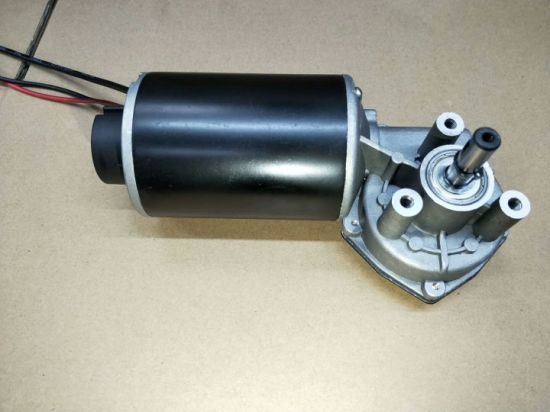 High Torque DC Worm Gear Motor 12V 24V pictures & photos