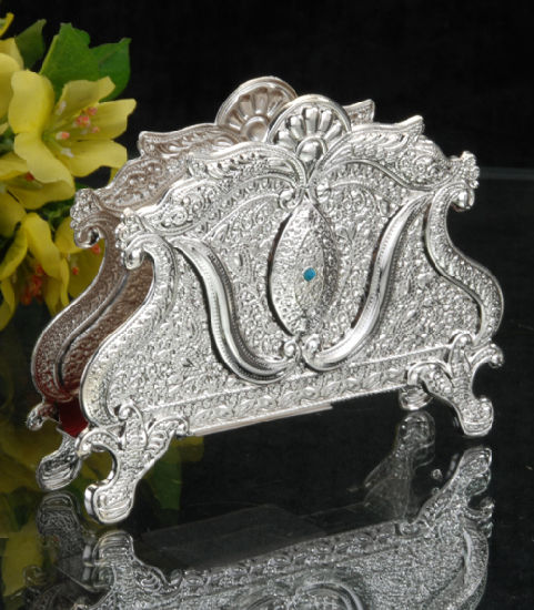 Grand Silver Plated Napkin Holder (RF15016D-F) & China Grand Silver Plated Napkin Holder (RF15016D-F) - China Silver ...