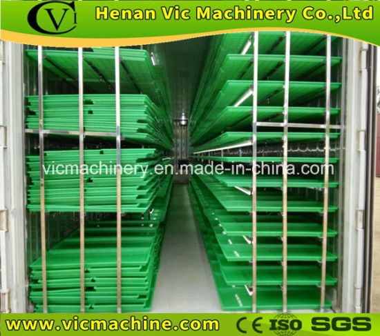 HP-1500H Farming hydroponic barley grass fodder growing system for cattle, goats, sheep, rabbits, livestock pictures & photos