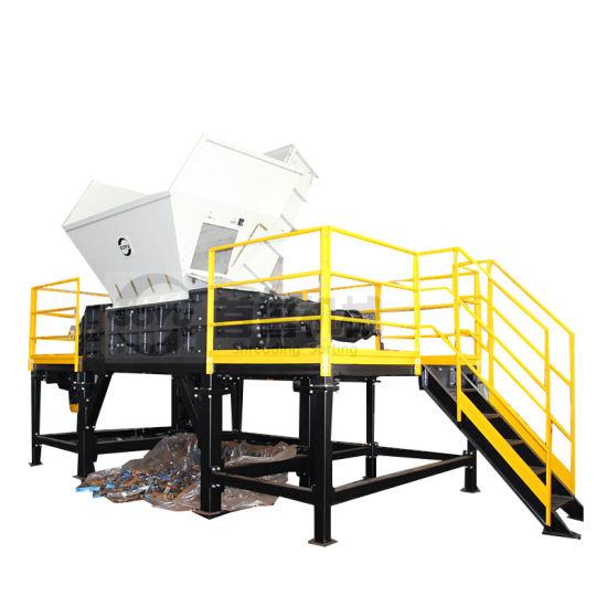 Two Shaft Shredder for Plastic/Metal/Tire/Waste/Barrel