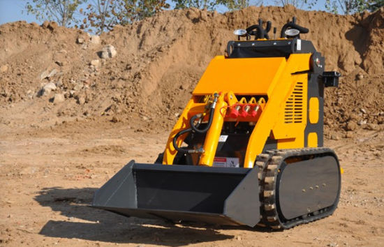 China Cheap Price Small Mini Track Skid Steer Loader pictures & photos
