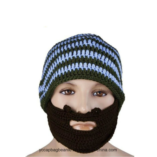 High Quality Bearded Wool Knitted Hats pictures & photos