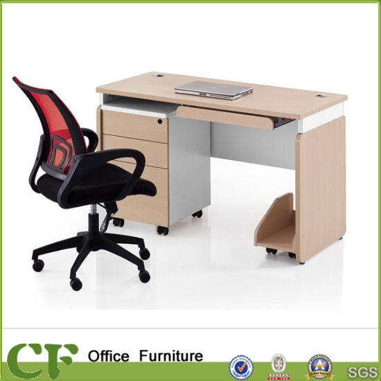 CF Wholesale Price Office Furniture Wooden Table Design Computer Desk pictures & photos