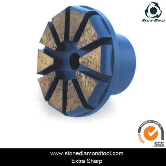 Diamond Arrow Segment Grinding Plug for Concrete Floors pictures & photos