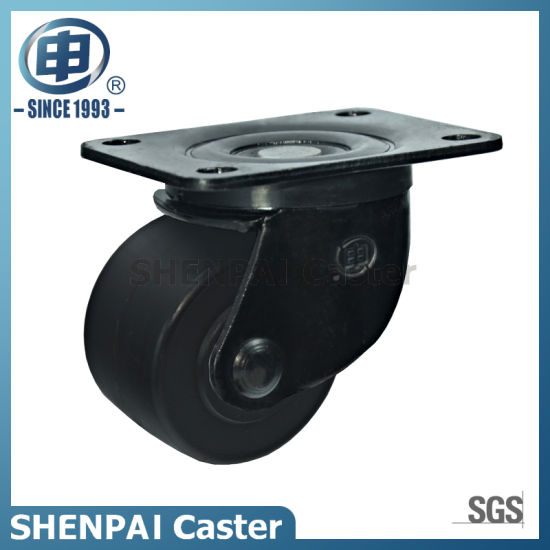 "2.5""Low Barycenter Duty Swivel Industrial Caster Wheel pictures & photos"