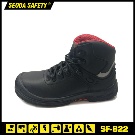 China Steel Top Cap Safety Products Boots Shoes