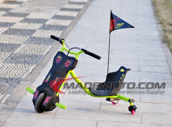 En71 Ce Certificate 250W 2ah Kids Electric Spinning Scooter Sliding Drifting Trike/Fastest pictures & photos
