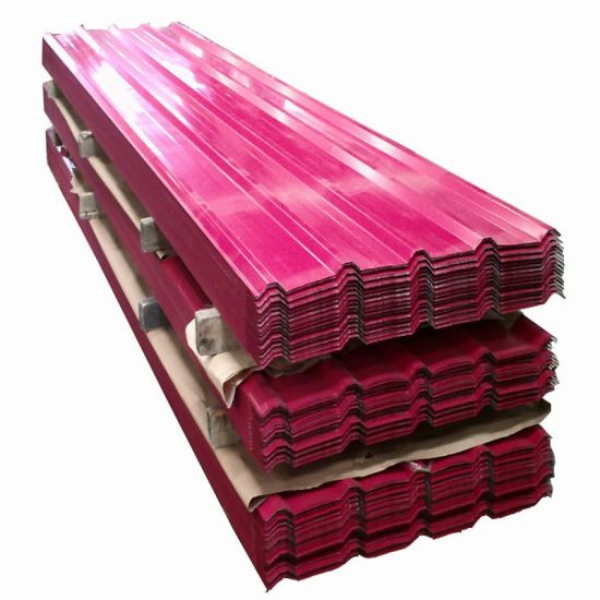 PPGI PPGL Prepainted Color Coated Corrugated Steel Roofing Sheet Price