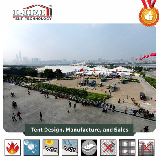Big Exhibition Tent Hall with 40m Wide Clear Span pictures & photos