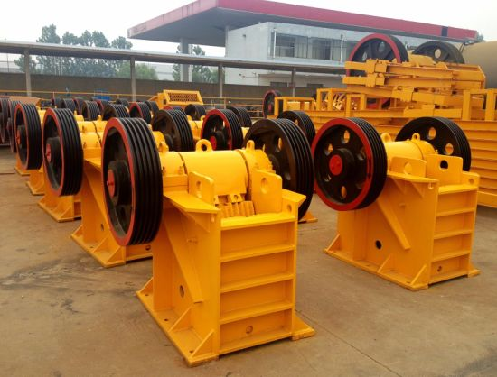 Rock Jaw Crusher of PE250X400. PE400X600, 600X900 pictures & photos