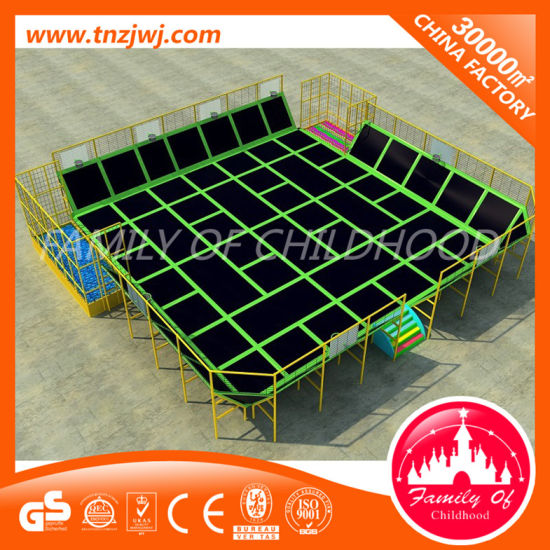 Best Sale Gymnastics Trampoline Park Toddler Trampoline Jumping House pictures & photos