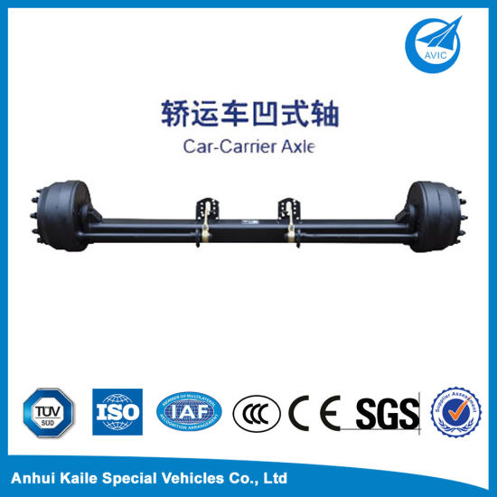 Car-Carrier Axle for Semi-Trailer