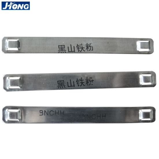 Stainless Steel Cable Marker Strips in Wire Accessories pictures & photos