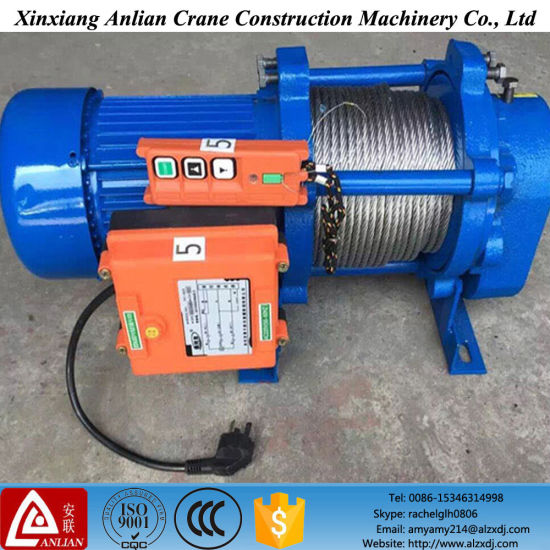 China Kcd Type Muliti-Function Electric Winch Electric Wire Rope ...