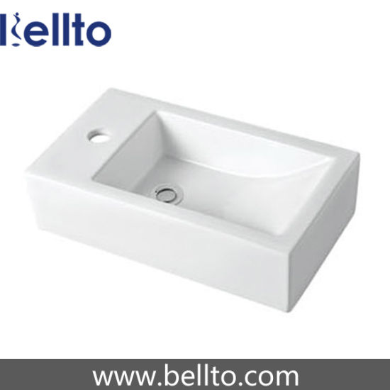 Ceramic Wash Hand Basin for Small Bathroom Furniture (3082) pictures & photos