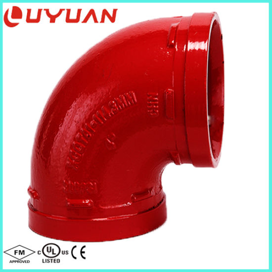 Casting Pipe Elbow for Fire Protection System pictures & photos