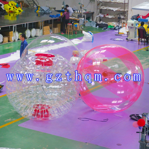Human Inflatable Walking on Water Ball/TPU Water Walking Ball pictures & photos