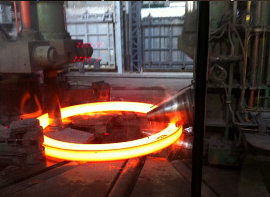 ASME Alloy Steel Forged Steel Ring Customized Heavy Duty Forging for Harbor Machinery pictures & photos