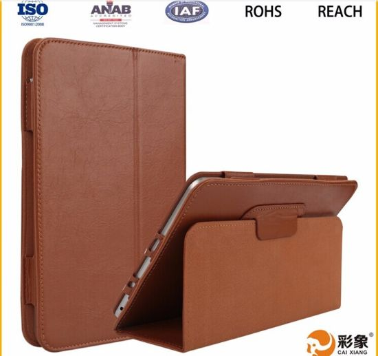 hot sale online 7002a cae89 [Hot Item] Custom Leather Flip Cover11 Inch Tablet Case for iPad Mini