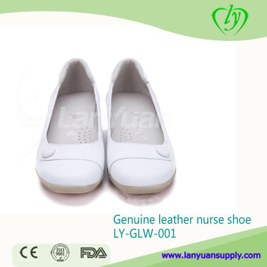 Fashionable Genuine Leather Nurse Shoes