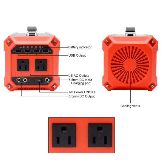 73000mAh Power Equipment Portable Inverter Generator