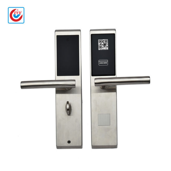 SUS304 Bluetooth and NFC Door Handle Lock for Dormitory Apartment pictures & photos