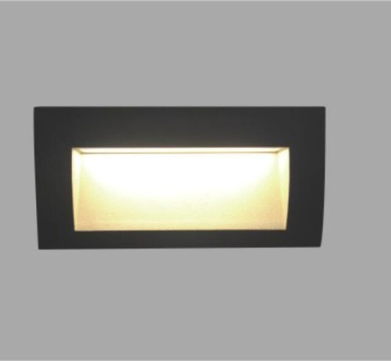 3W Square LED Recessed Wall Light pictures & photos