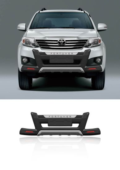 Front and Rear Bumper Guard for Toyota Fortuner
