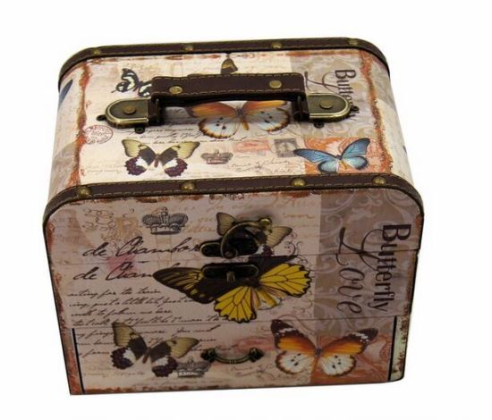 Vintage Jewelry Box Jewellery Wood Organizer Storage Case pictures & photos