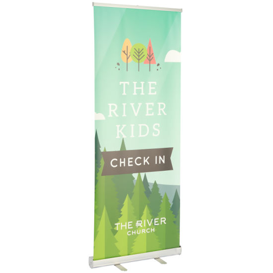 Heat Transfer Printed Fabric Roll up Banner Stand (TJ-001)