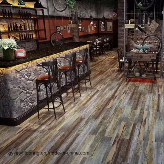 China Self Adhesive Pvc Vinyl Flooring Planks Tiles China