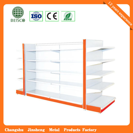Durable Heavy Duty Supermarket Display Shelf pictures & photos