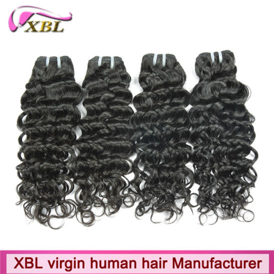 100% Peruvian Human Hair Weave 18 Inch Hair Extensions pictures & photos