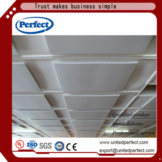 Decorative Material Tegular Edge Suspended Ceiling Panel Acoustic Baffle Ceiling pictures & photos