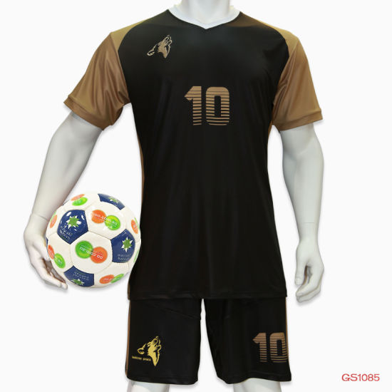 5b744aa38 Custom 100% Polyester Dye Sublimation Soccer Shirts Soccer Team Jersey  pictures & photos