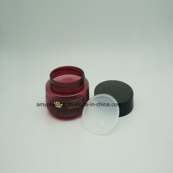 Elegant 100g Plastic Cosmetic Packaging Mask Jar pictures & photos