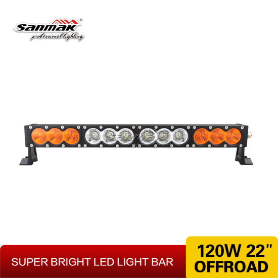 "22"" Offroad Auto CREE 120W Curved LED Light Bar pictures & photos"
