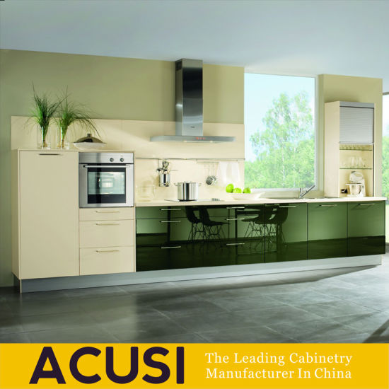 Customized Lacquer MDF Modern Style Kitchen Cabinet (ACS2 L152)
