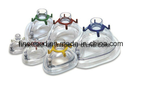 Cheapest Easy Medical Breathing Anesthesia Mask pictures & photos