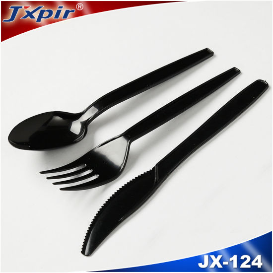 Jx124 Light Weight Plastic Cutlery pictures & photos