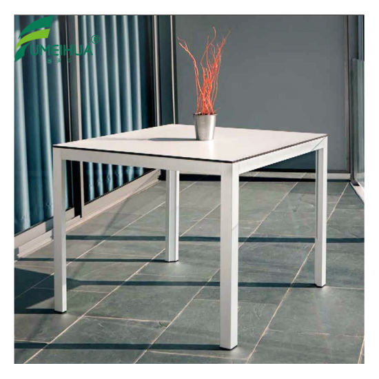 China HPL Restaurant Square Dining Table Tops China Compact Table - Outdoor table tops restaurant