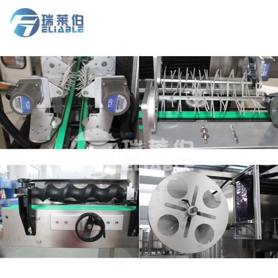 Automatic Bottle Shrink Sleeve Labeling Machine Price pictures & photos