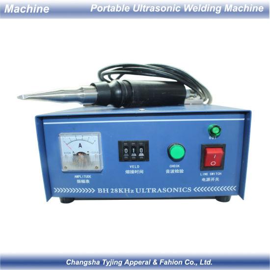 Portable Hand Ultrasonic Spot Welder Fabric Positioning Spot Welding Machine