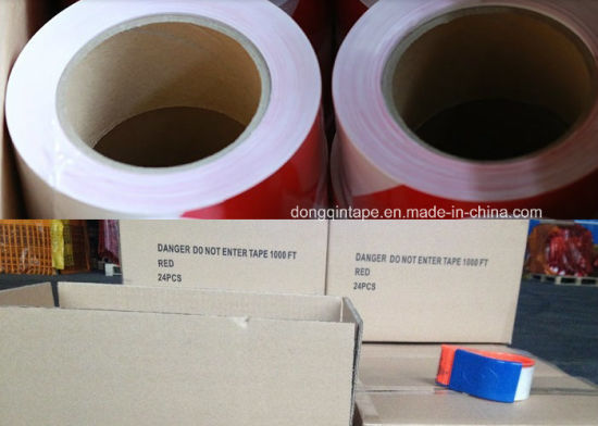 Red Danger Caution PE Warning Tape pictures & photos