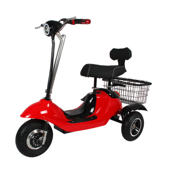 China Cheap Foldable Electric Tricycle S Colorful Folding 3 Wheel Tc 030