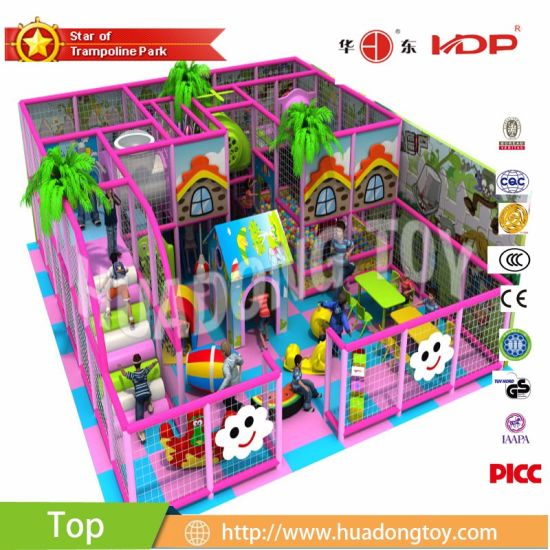 Hot Sale Indoor Playground Equipment for Shopping Mall Professional Soft Indoor Park Commercial Items Trampoline with TUV/ASTM/ISO9001/4001 Certificate