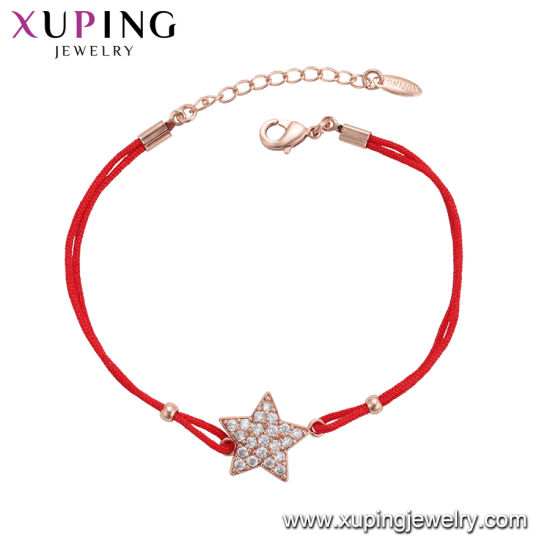 China Wholesale Xuping Fashion Elegant Zircon Rose Gold Color