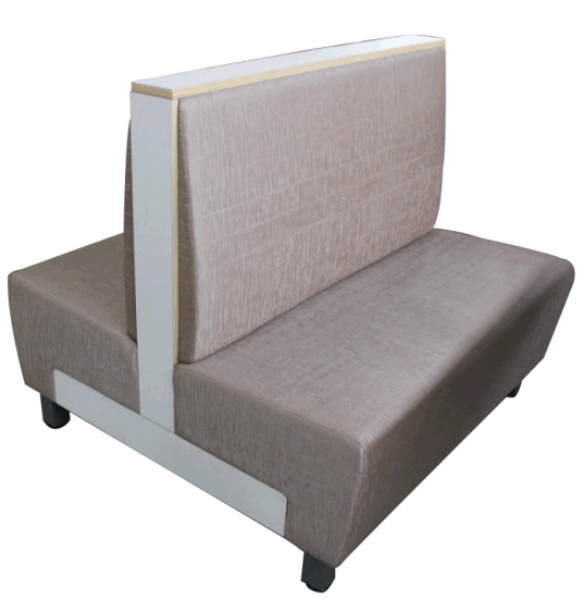 4 People Use Restaurant Booth Sofa Seating