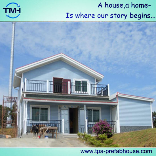 2 Storey Light Steel Structure House for Living pictures & photos