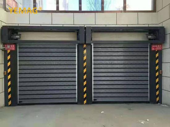 Auto Automatic Industrial Aluminum Roller Shutter Door Factory Price